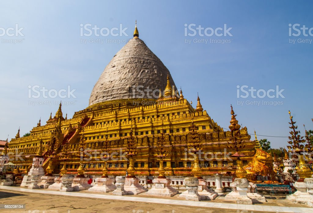 Pagoda in Bagan ロイヤリティフリーストックフォト