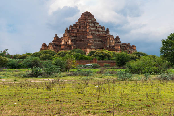 A pagoda in the valley of temples. Bagan - Burma - Myanmar - foto stock