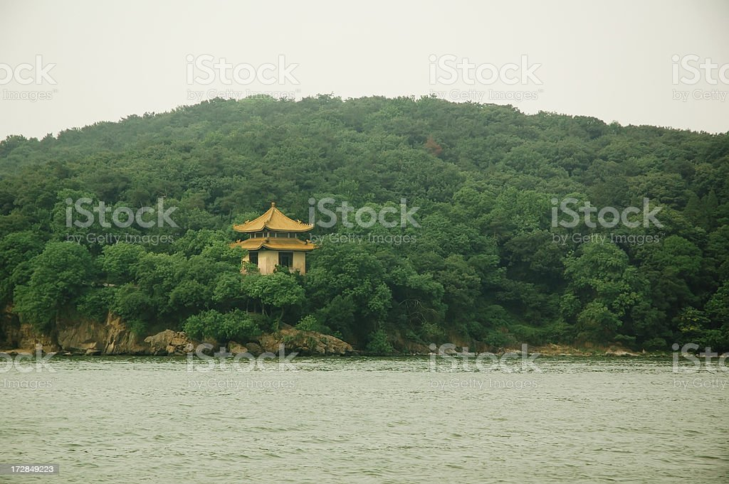 Pagoda in Wuxi, China royalty-free stock photo