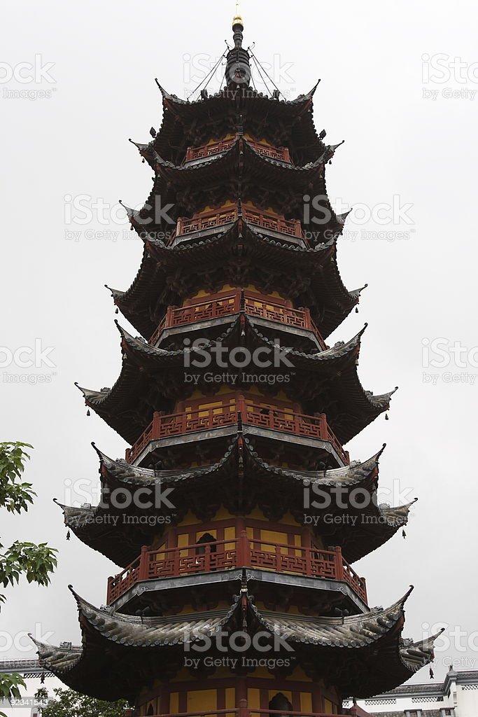 Pagoda royalty-free stock photo