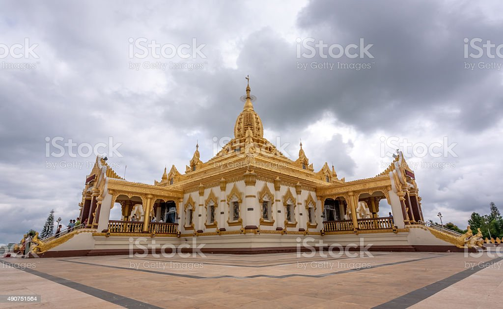 Pagoda, Pyin Oo Lwin, Myanmar stock photo