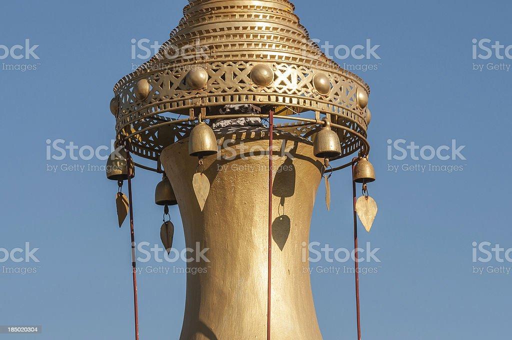 Pagoda spire royalty-free stock photo