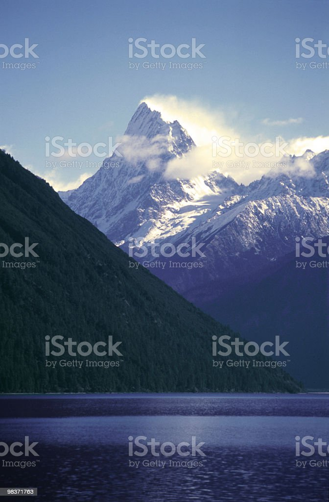 pagsum lake royalty-free stock photo