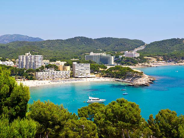 Paguera Beach, Majorca stock photo