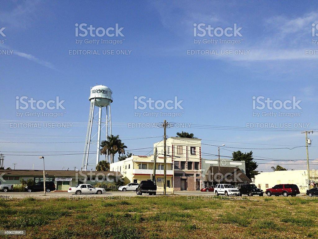 Pahokee Florida stock photo