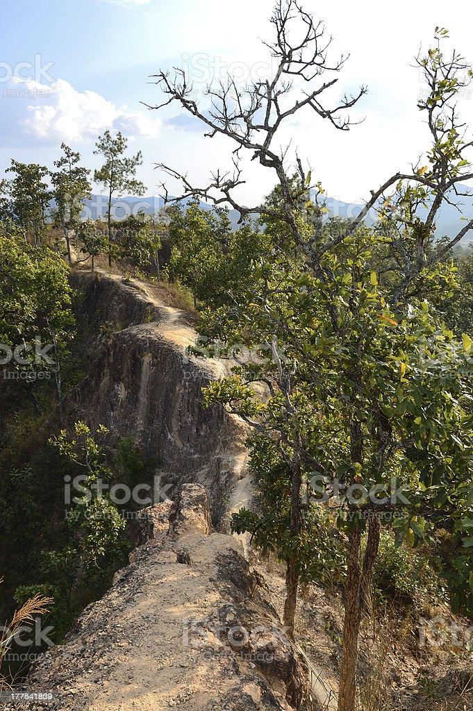 Pai Canyon royalty-free stock photo