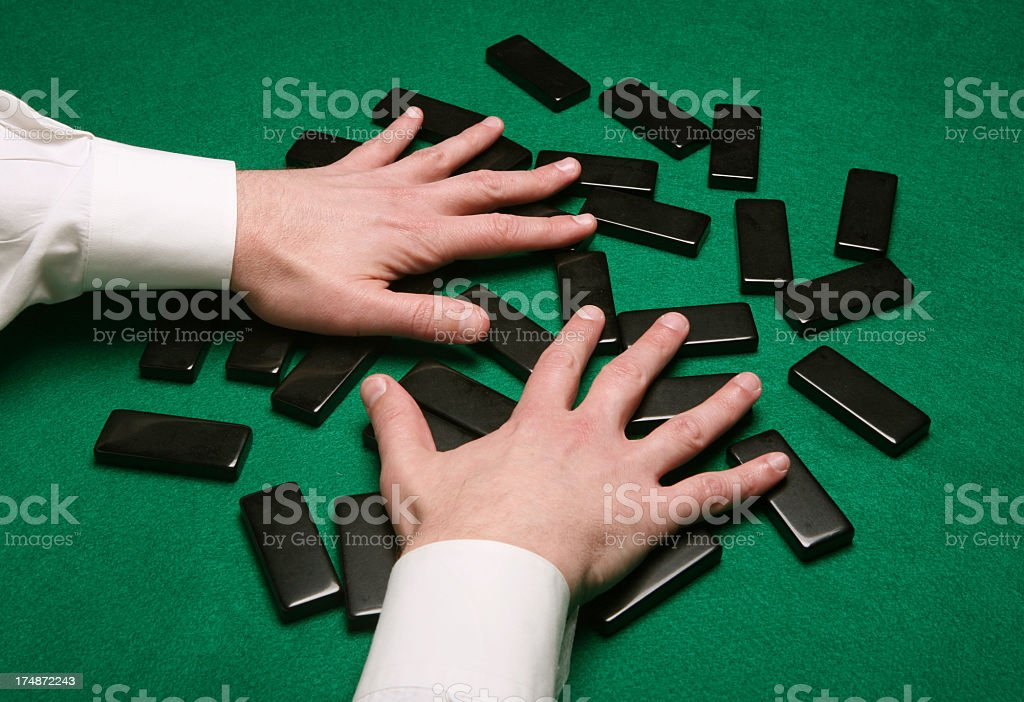 Pai Gow stock photo