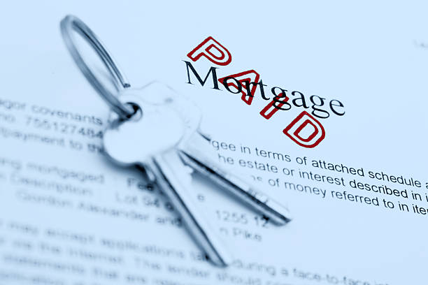 paid mortgage - paid stock pictures, royalty-free photos & images