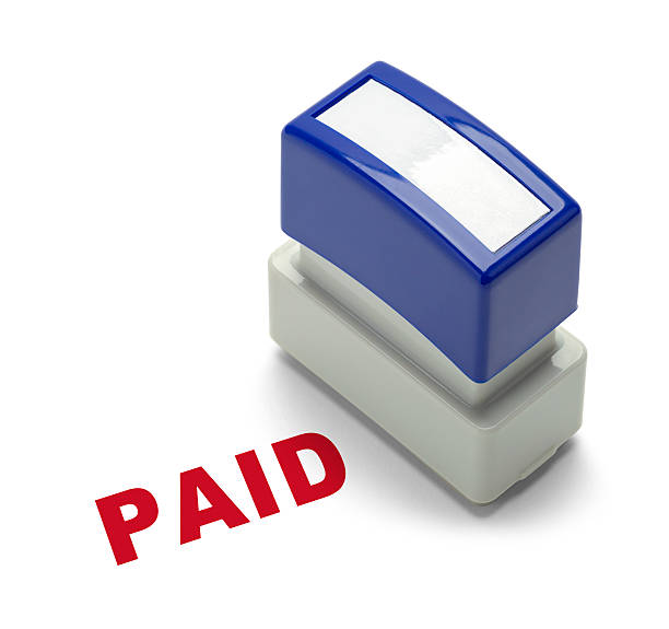paid stamper - paid stock pictures, royalty-free photos & images