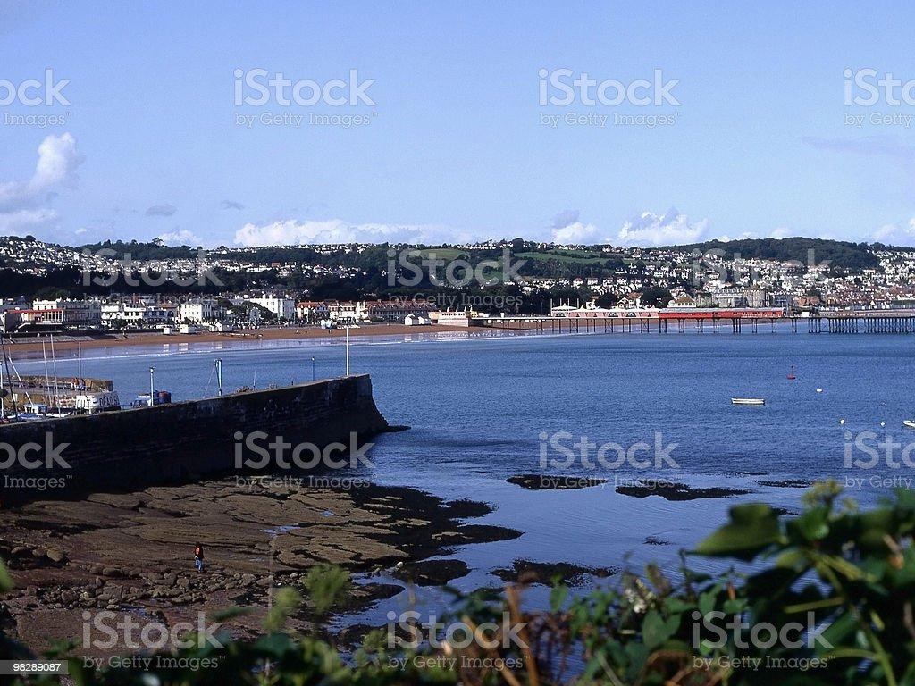 Paignton. Devon. England royalty-free stock photo