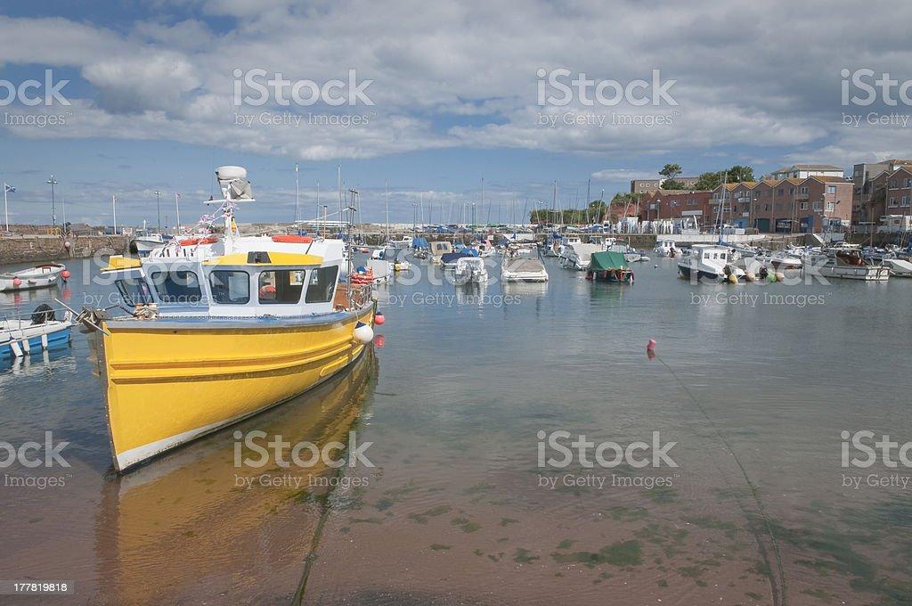 Paignton harbour Devon UK stock photo