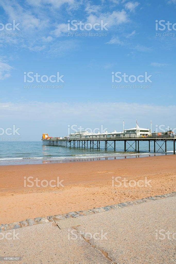 Paignton Pier stock photo