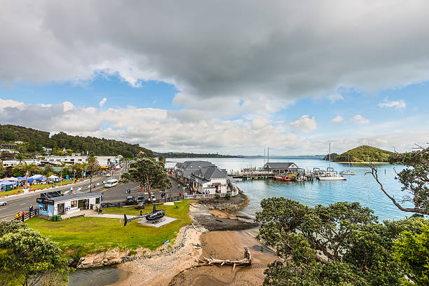 Paihia, Bay of Islands, Northland, New Zealand – Foto