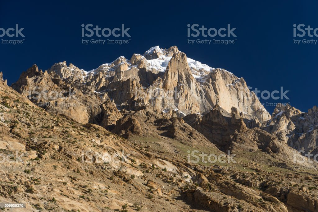 Paiju mountain peak, one of iconic peak in K2 trekking trail,...