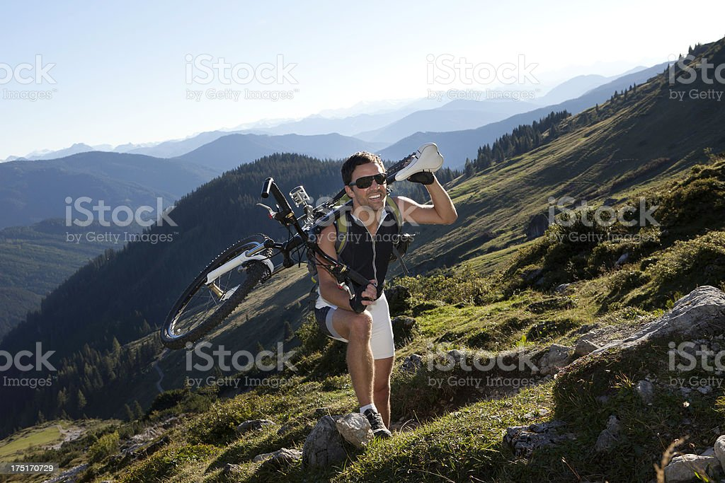 Pain and pleasure royalty-free stock photo