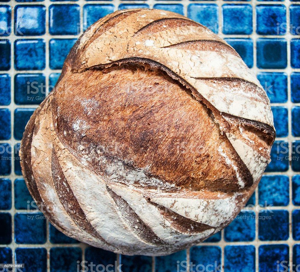 pain de campagne stock photo