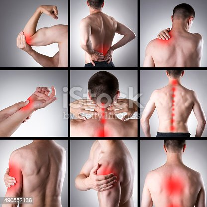 istock Pain in a man's body 490552136