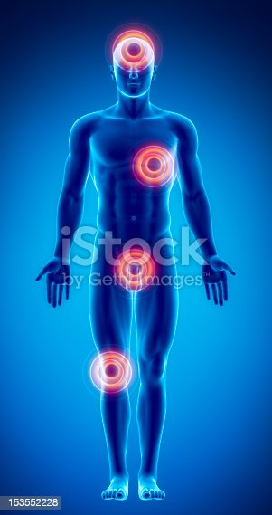 istock Pain in different male body parts 153552228