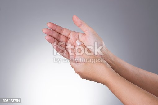 668285874istockphoto Pain in the joints of the hands. Carpal tunnel syndrome 503423754