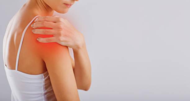 Schmerzen, Verletzungen in der Schulter. – Foto