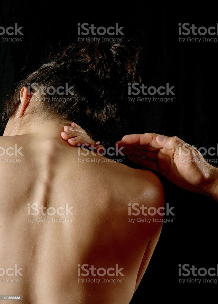Pain management royalty-free stock photo