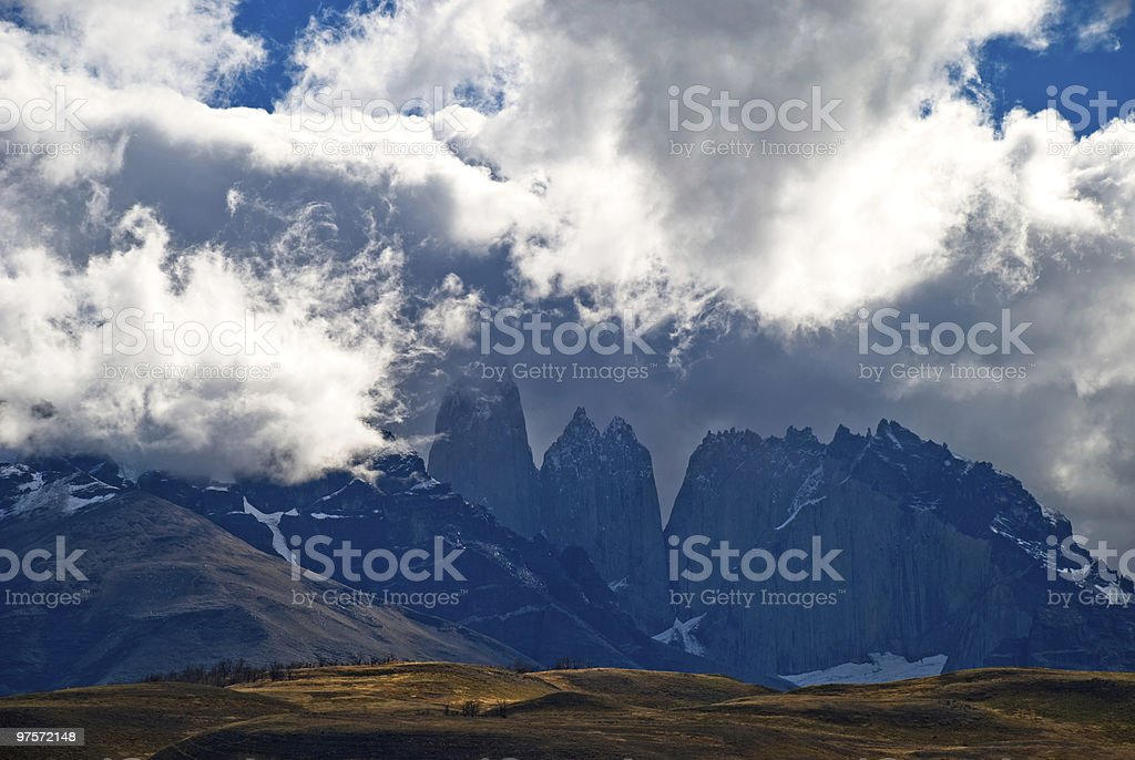 Torres del Paine photo libre de droits