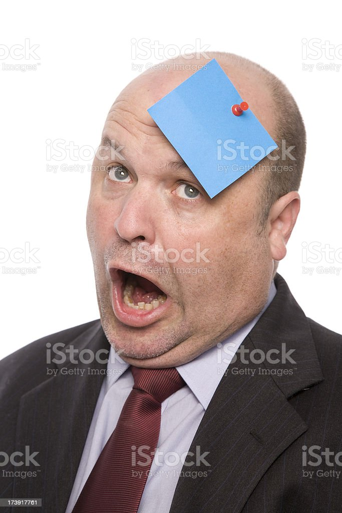 Painful Message royalty-free stock photo