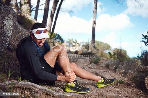 istock painful running injury 526860365