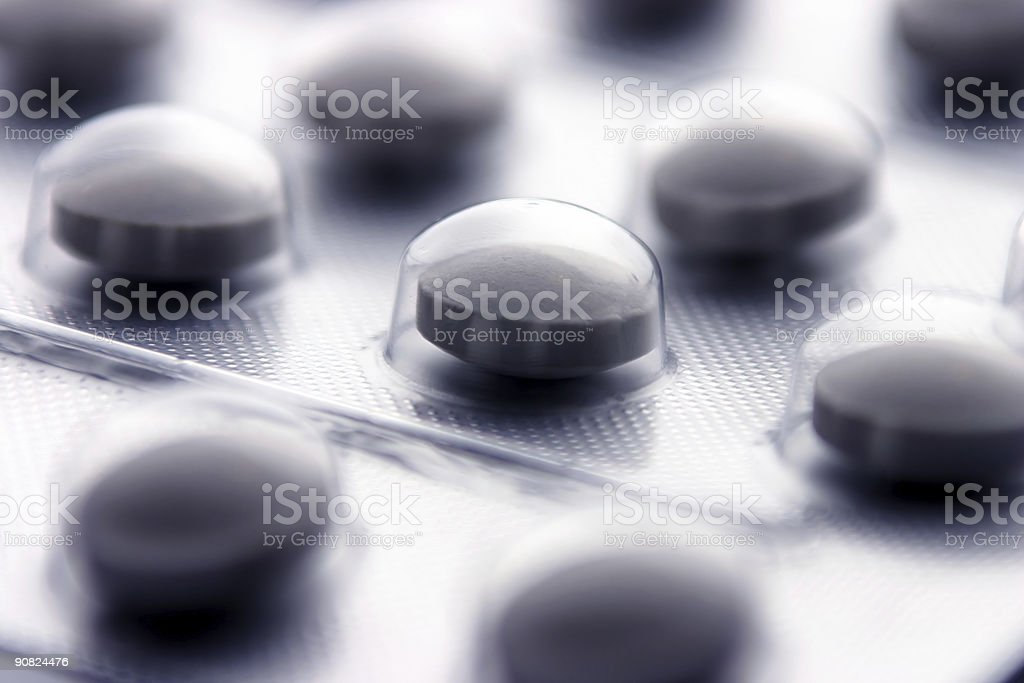 Painkillers royalty-free stock photo