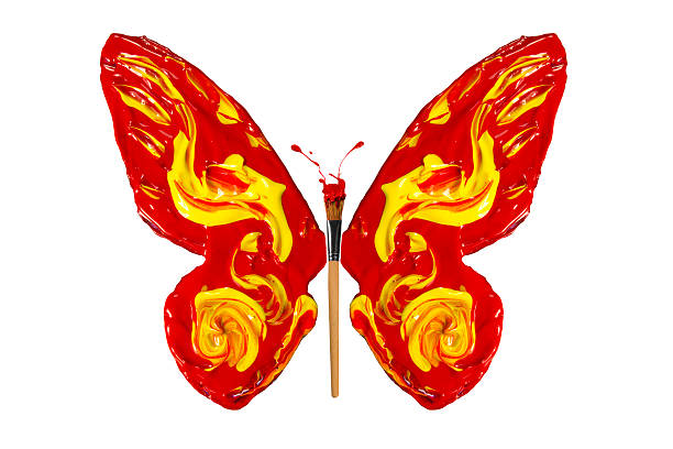 Paint and paintbrush made butterfly picture id496351419?b=1&k=6&m=496351419&s=612x612&w=0&h=zzgavhuoca56f 8gyttjal1u3uhfmjwihhdnu5glo78=