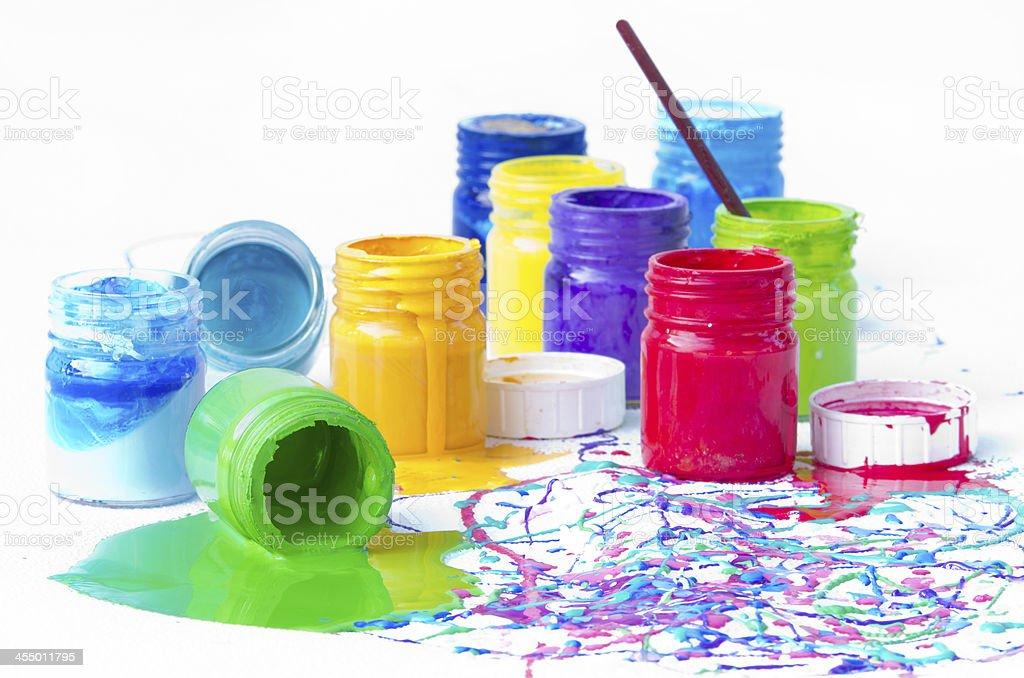 Paint Bottles Stock Photo Download Image Now Istock