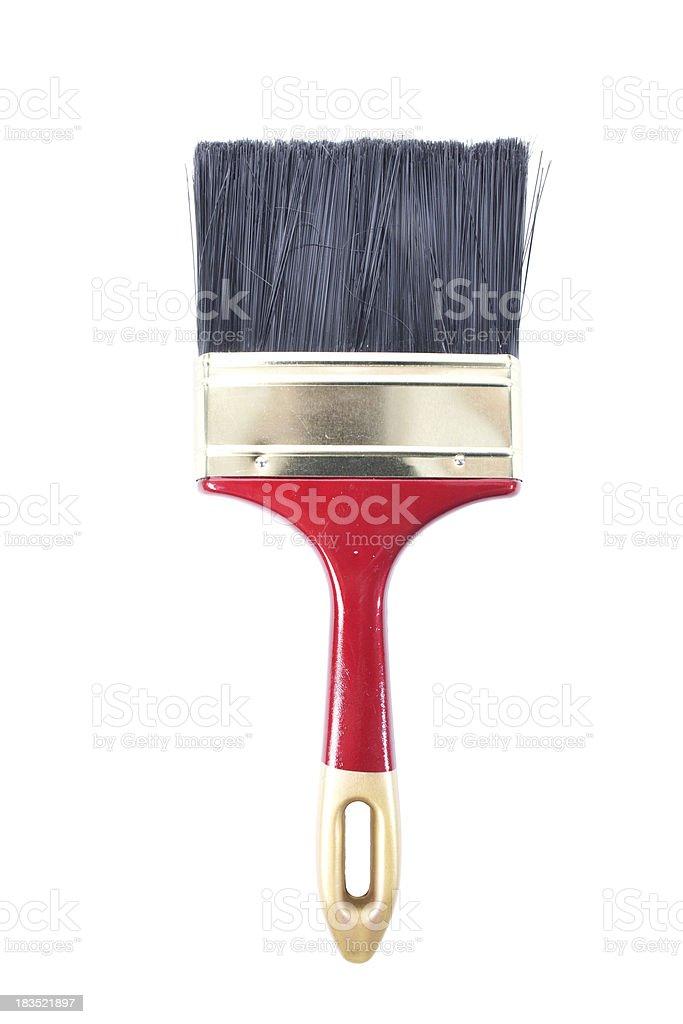 Paint Brush Isolated royalty-free stock photo