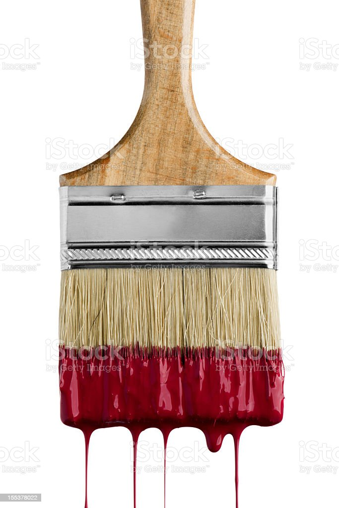 Paint Brush royalty-free stock photo