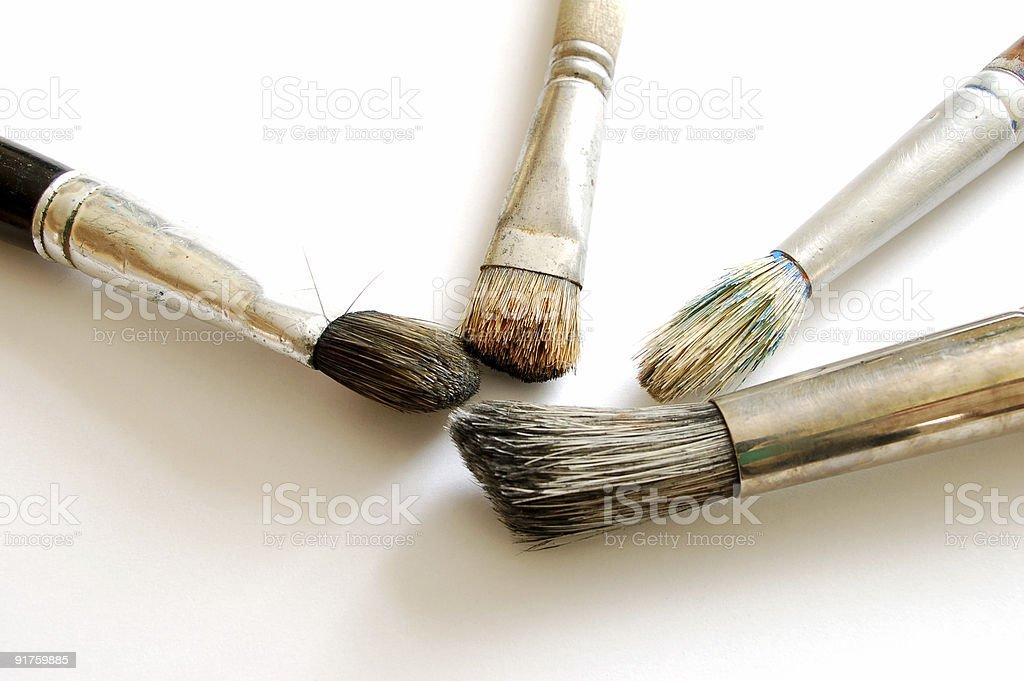paint brush #4 royalty-free stock photo