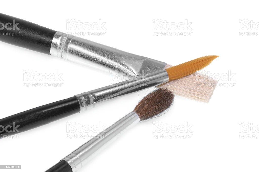 Paint brushes IV royalty-free stock photo