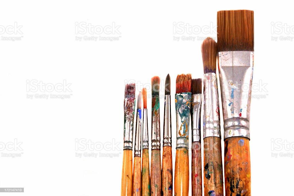 Paint Brushes royalty-free stock photo