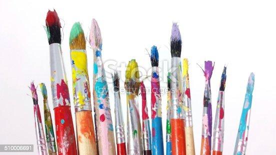 510006691 istock photo Paint Brushes 510006691