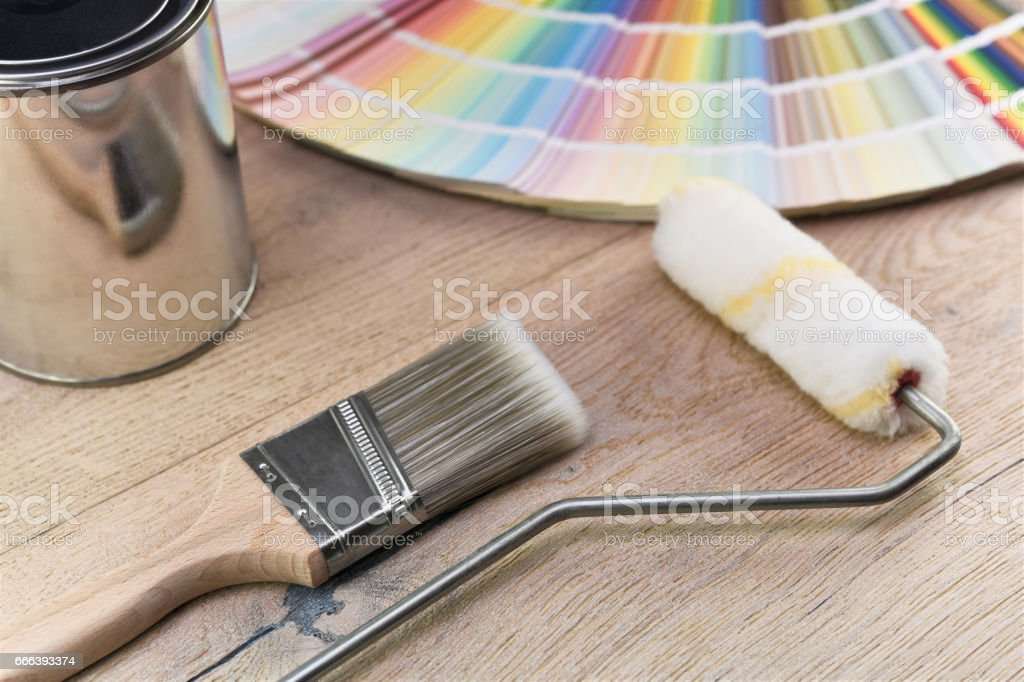 Farbe bucket – Foto