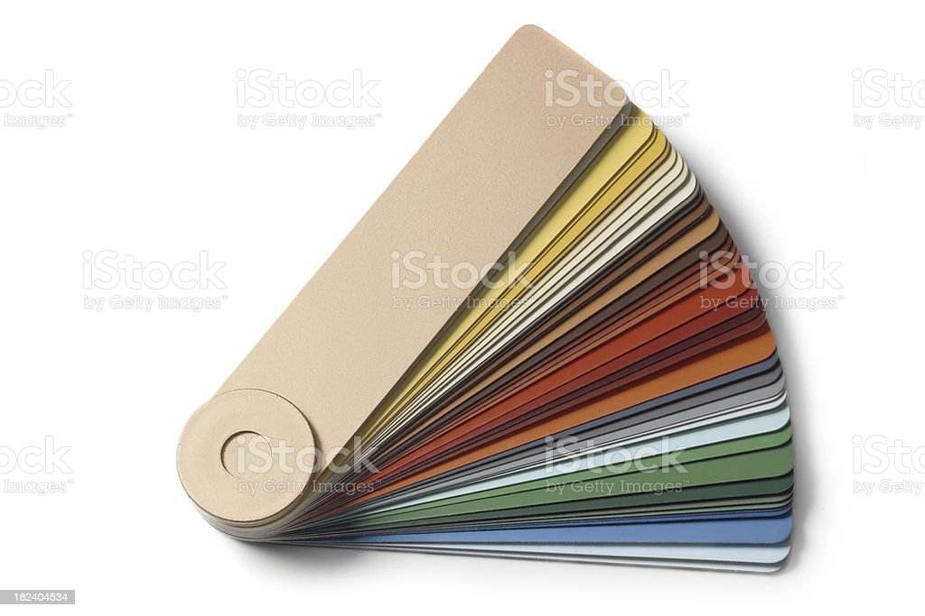 Paint: Color Swatch royalty-free stock photo