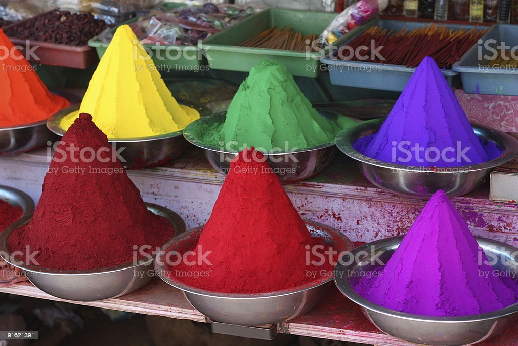 Paint colors royalty-free stock photo