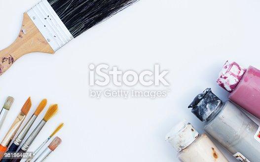 istock Paint Equipment 981964674