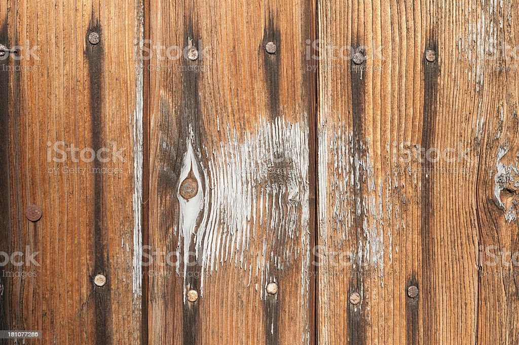 Paint exfoliated wallpaper royalty-free stock photo