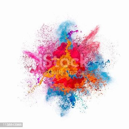 istock Paint explosion 1138843966