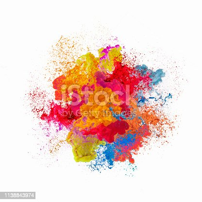istock Paint explosion 1138843974