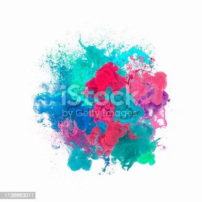 istock Paint explosion 1138883011