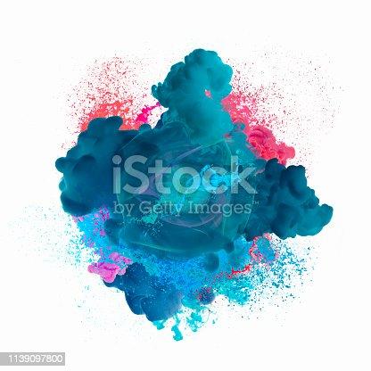 istock Paint explosion 1139097800