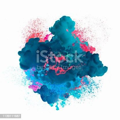 istock Paint explosion 1139111687
