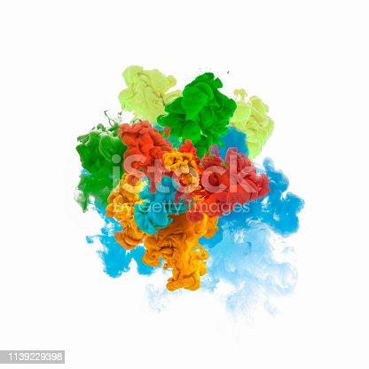 istock Paint explosion 1139229398