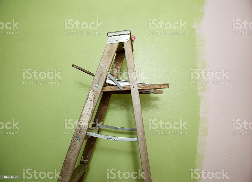 Paint Ladder royalty-free stock photo