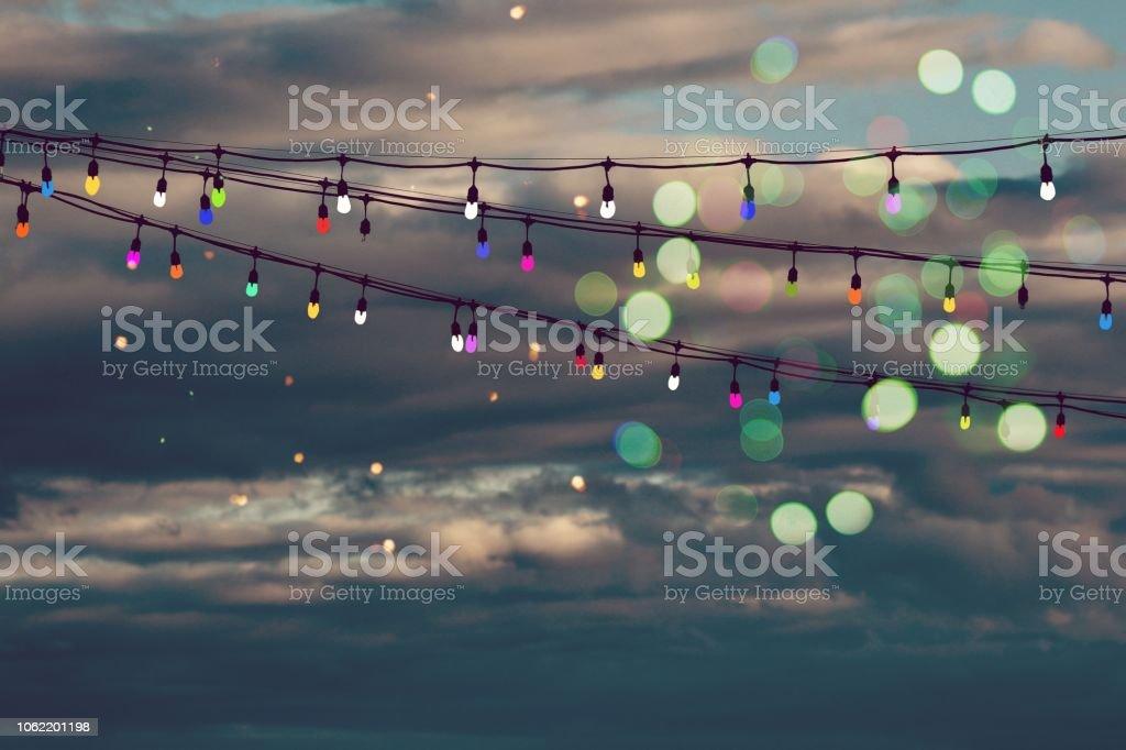 Paint lights stock photo